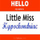 """Guest Blog: Stacey Murfield """"Little Miss Hypochondria"""""""