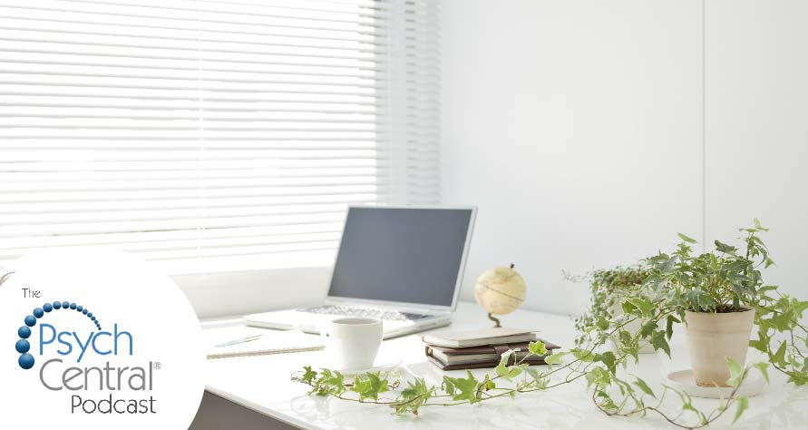Home Office Design Tips Using Psychology (Psych Central Podcast)